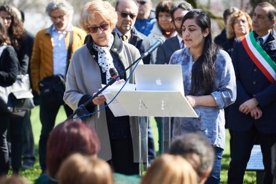 The speech of Farida Abbas