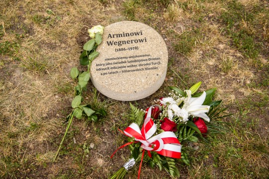 the stone for Armin Wegner