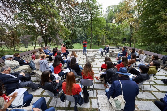 "Collective reading in collaboration with the ""Catholic University of the Sacre Coeur"""