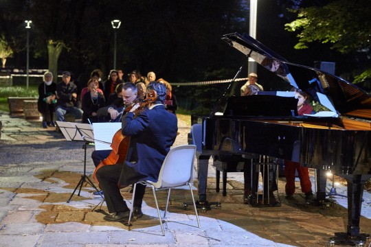 "Concert ""Music at sunset"" with the ""Trio Pierre Louys"""