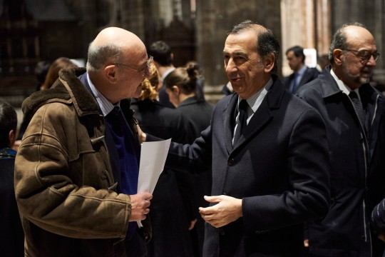 Gabriele Nissim and Giuseppe Sala