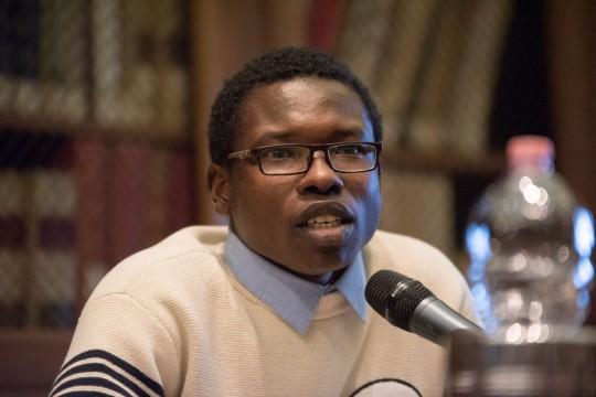Abbas Ismail Mohamed, from Sudan, asylum-seeker through Libya and the Mediterranean