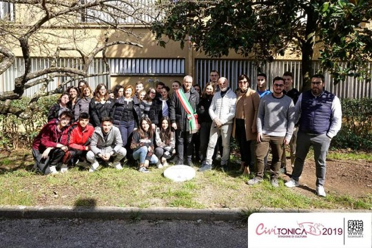 with friends of Civitonica for the Day of the Righteous in Civita Castellana