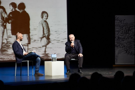 Pietro Kuciukian, Honorary Consul of Armenia in Italy and co-founder of Gariwo, talks about children during the Armenian genocide