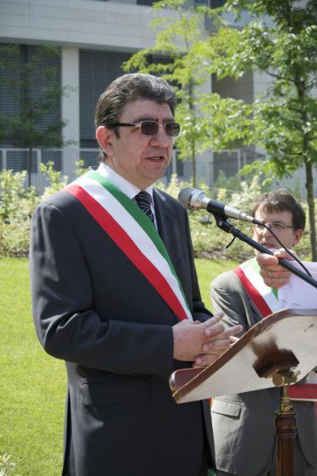 Giuseppe Russo, mayor of Tavazzano (LO)