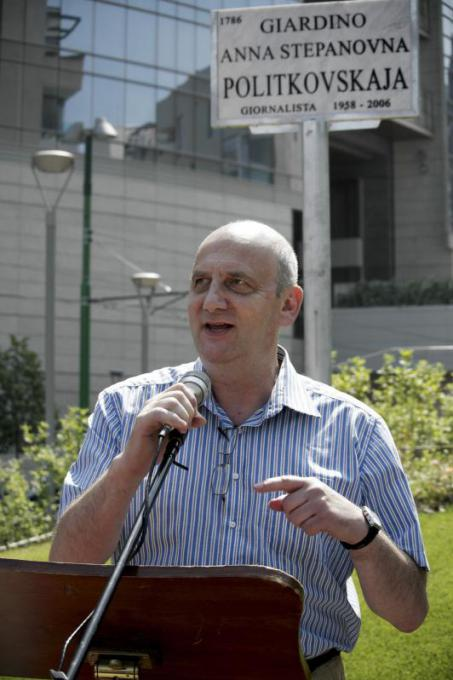 Vitalij Jaroshevskij, vice editor of the newspaper Novaja Gazeta